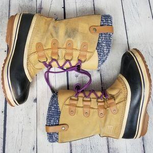 SOREL | Joan Of Artic knit waterproof winter boots